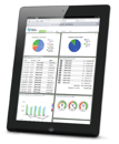 iPad Buchhaltung im Dashboard