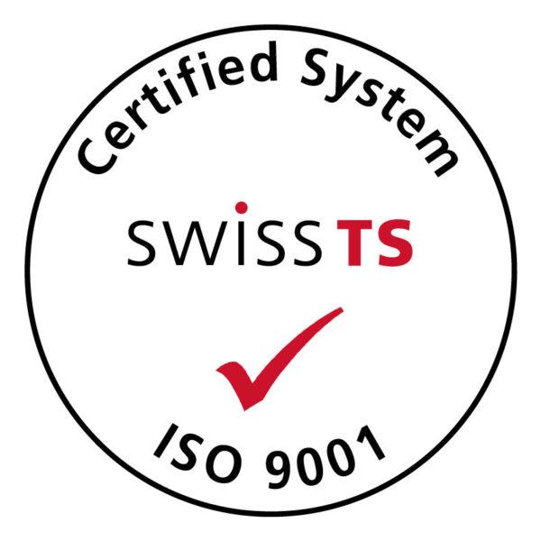 SwissTS ISO9001 CM bold 600x600 Backoffice für Treuhänder