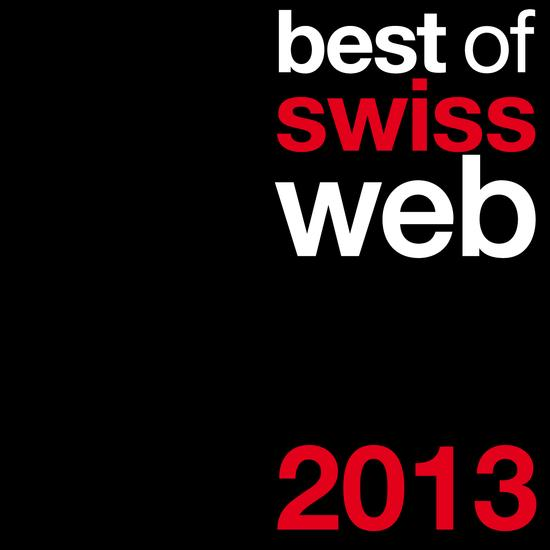 best of swiss web 2013