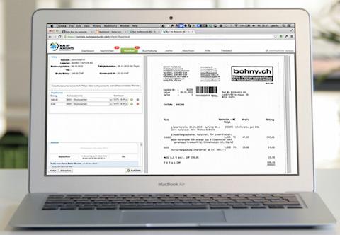 Mac mit Workflow