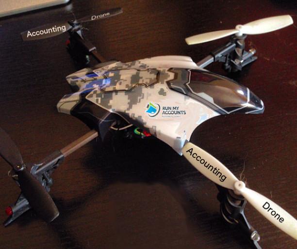 Buchhaltungs-Drone von Run my Accounts