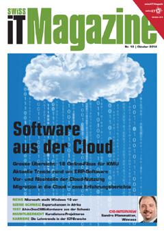 Swiss IT Magazin Nr. 10 2014
