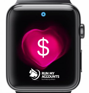 Apple Watch Zahlungseingang