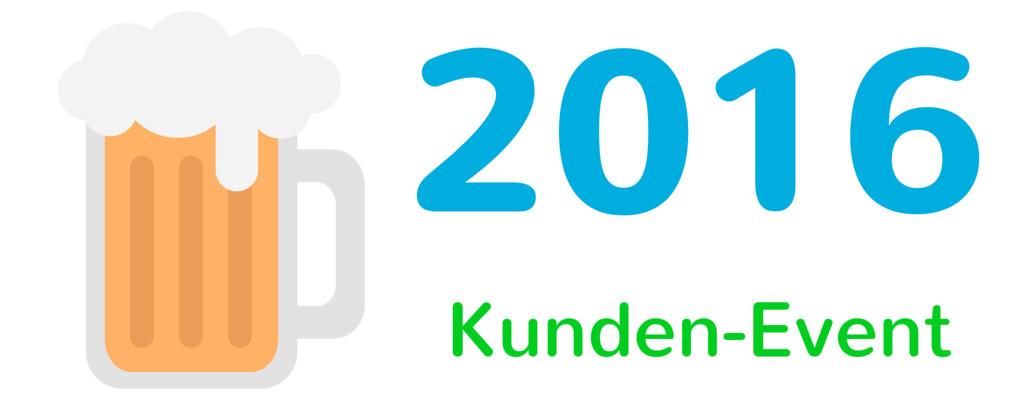 Kundenevent 2016