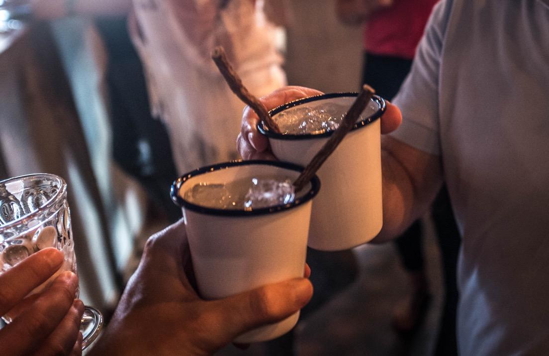 Die Schnapsidee mit dem Turicum Gin kam in der Milchbar
