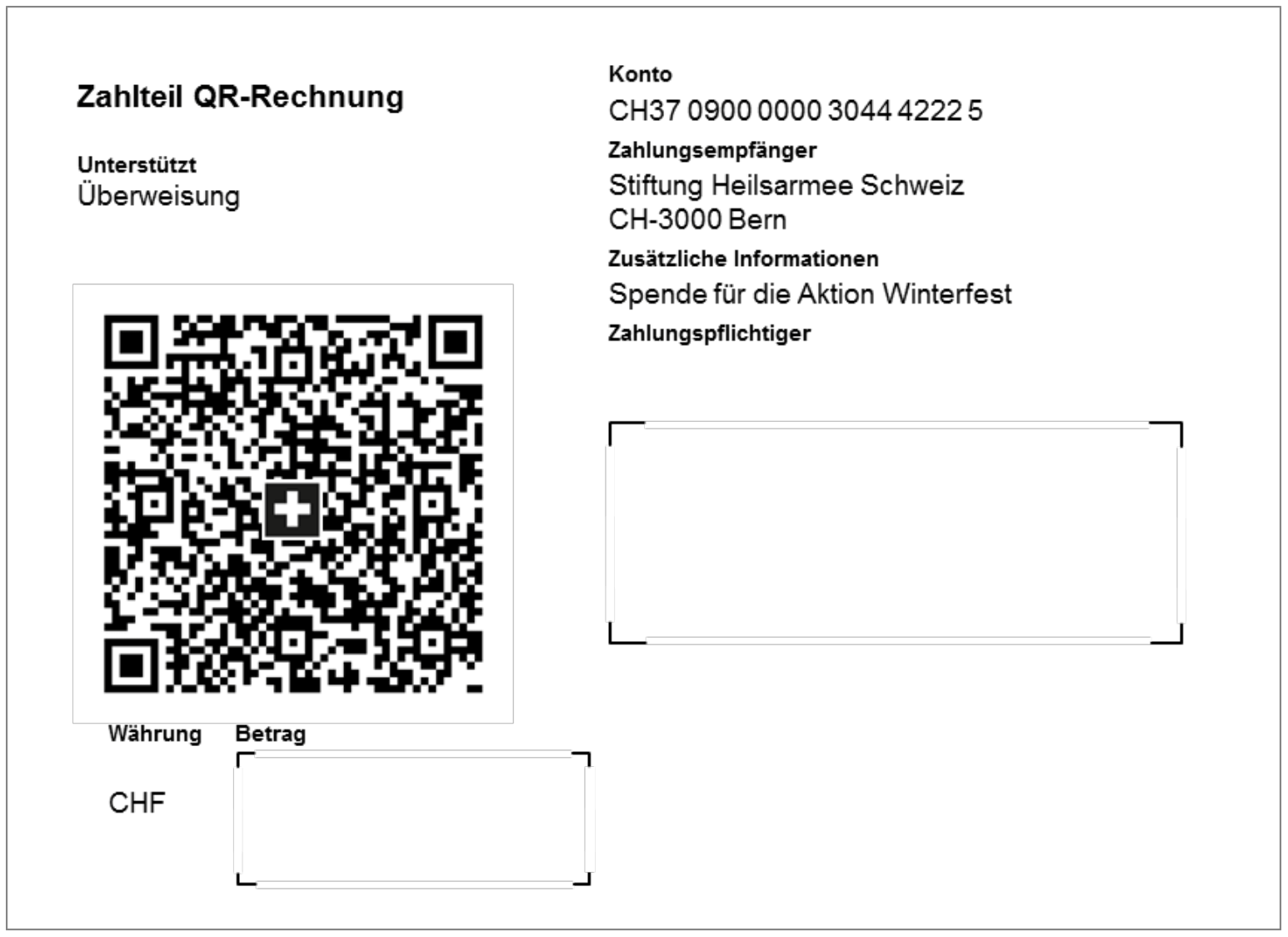 spezifizierungen zur neuen qr rechnung run my accounts. Black Bedroom Furniture Sets. Home Design Ideas