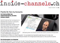 inside channels Run my Accounts
