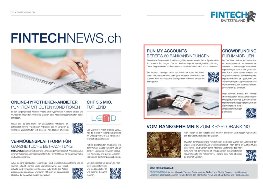 Online Buchhalter - Bankanbindungen