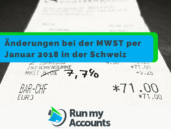 MWST Reduktion per 1.1.2018