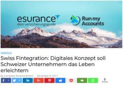 Fintechnews - Swiss Fintegration: Digitales Konzept soll Schweizer Unternehmern das Leben erleichtern