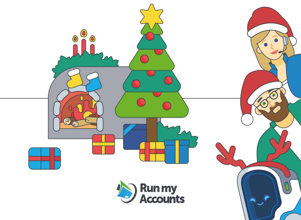 Weihnachtsgrüsse 2017 - Run my Accounts der Online Buchhalter