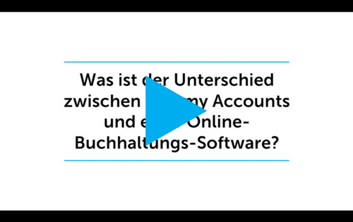 Was ist der Unterschied zwischen Run my Accounts und einer Online-Buchhaltungs-Software?