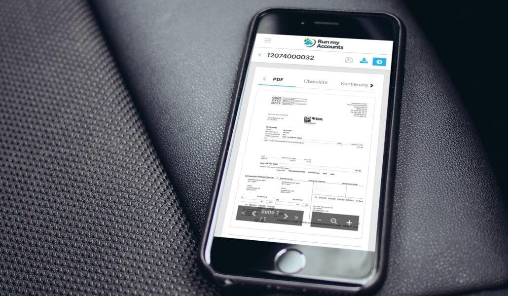 Mobile Workflow - Update der Buchhaltungssoftware