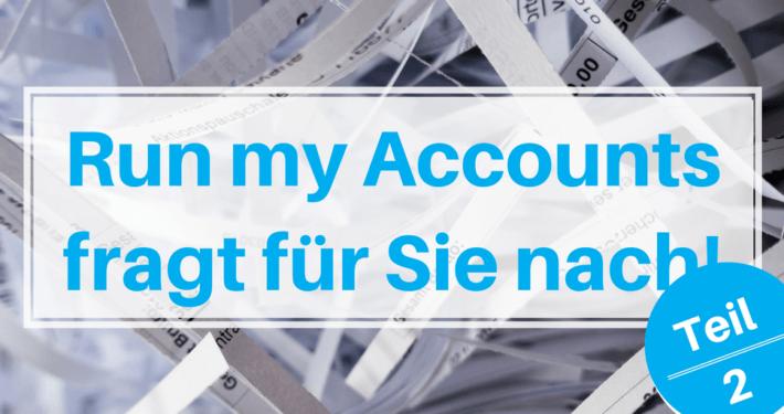 Run my Accounts fragt für Sie nach!