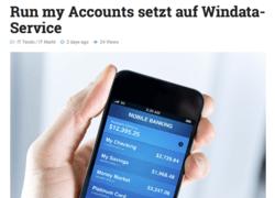Run my Accounts setzt auf Windata-Service