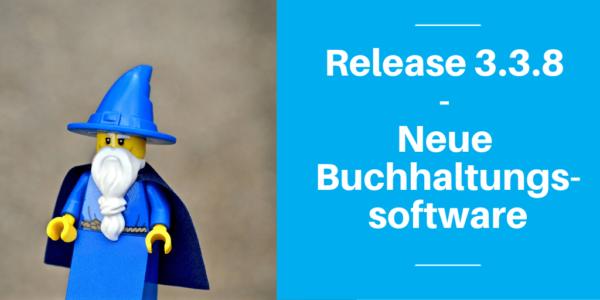 Release 3.3.8 - Neue Buchhaltungssoftware