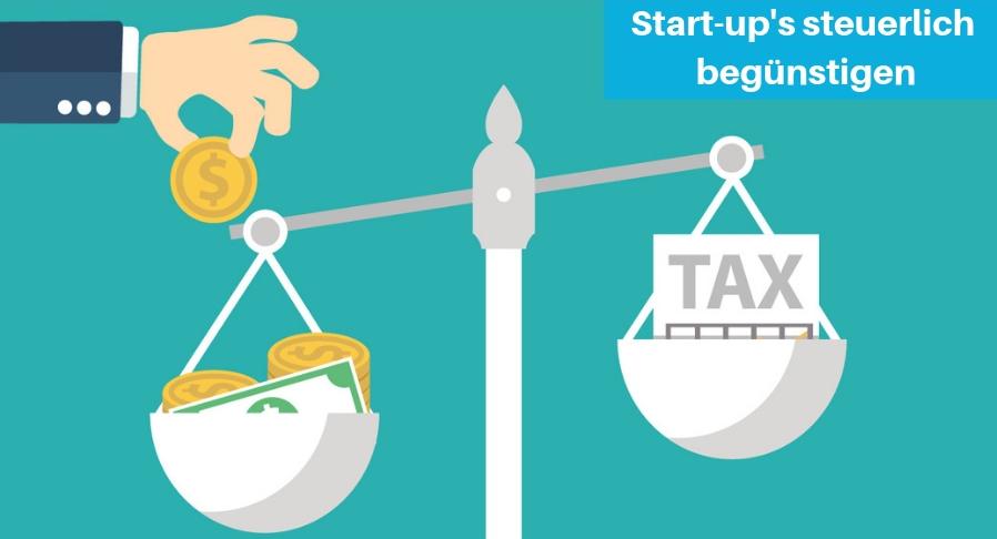 Steuererleichterung Start-up's