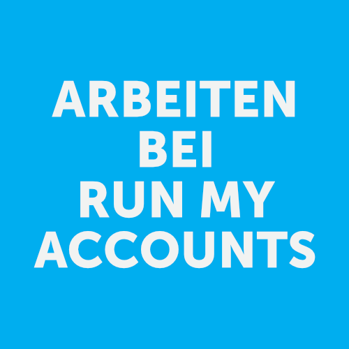 ARBEITEN BEI RUN MY ACCOUNTS