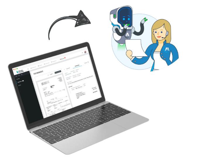 Digitalisierter Buchhaltungsprozess Belege-verarbeiten