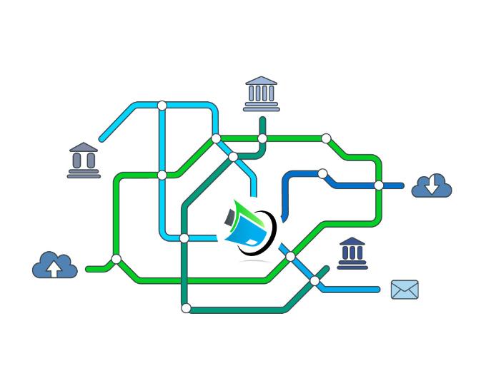 automatisierte Buchhaltung Digital-und-weltweit-vernetzt