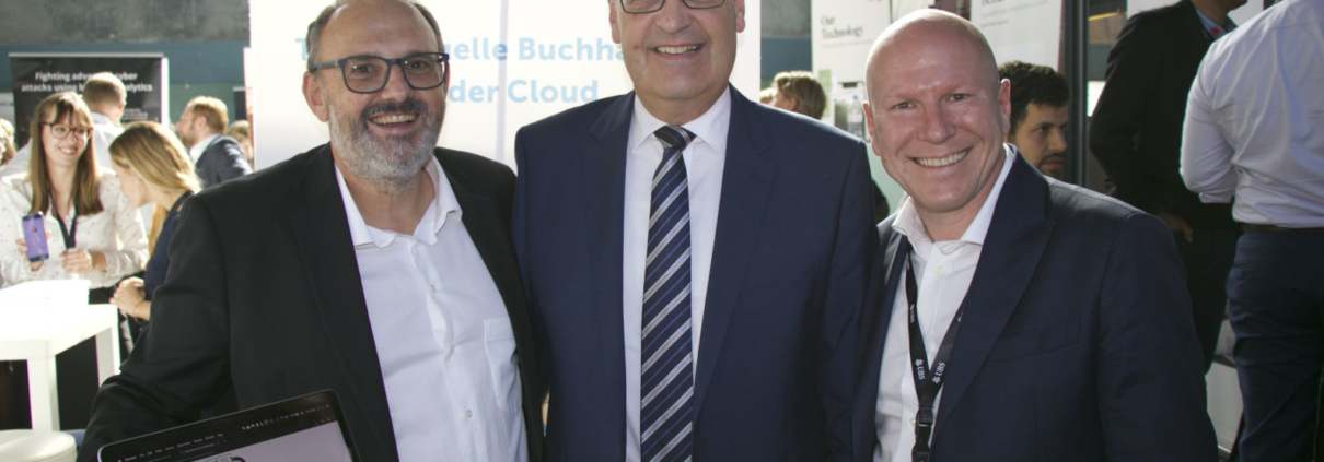 Bundesrat Parmelin besucht Run my Accounts