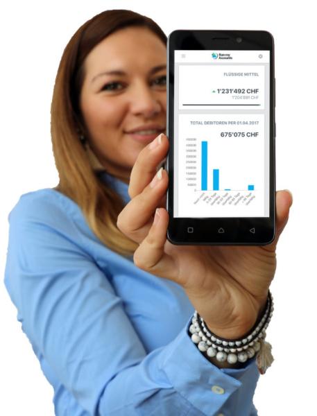 Online-Buchhaltung für Buchhaltung Kunden der Zürcher Kantonalbank