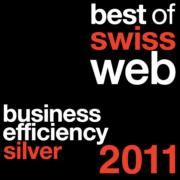 Plakette BoSW Silber Business Efficiency