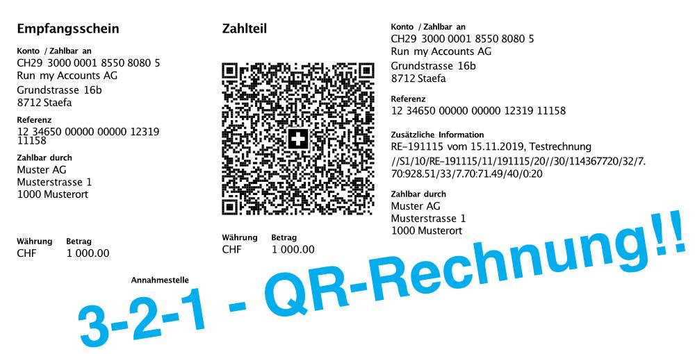 QR-Rechnung Countdown
