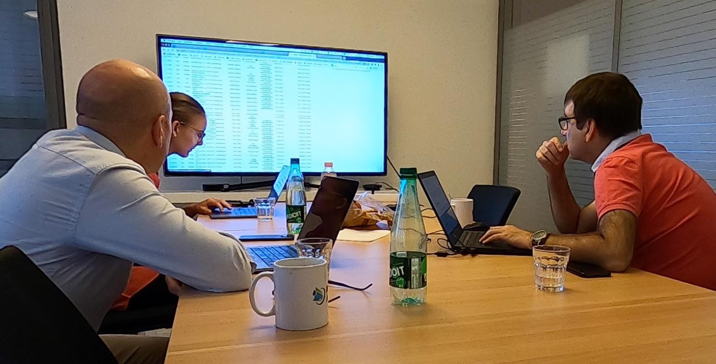 ISO 9001: Internes Audit - Team an der Arbeit