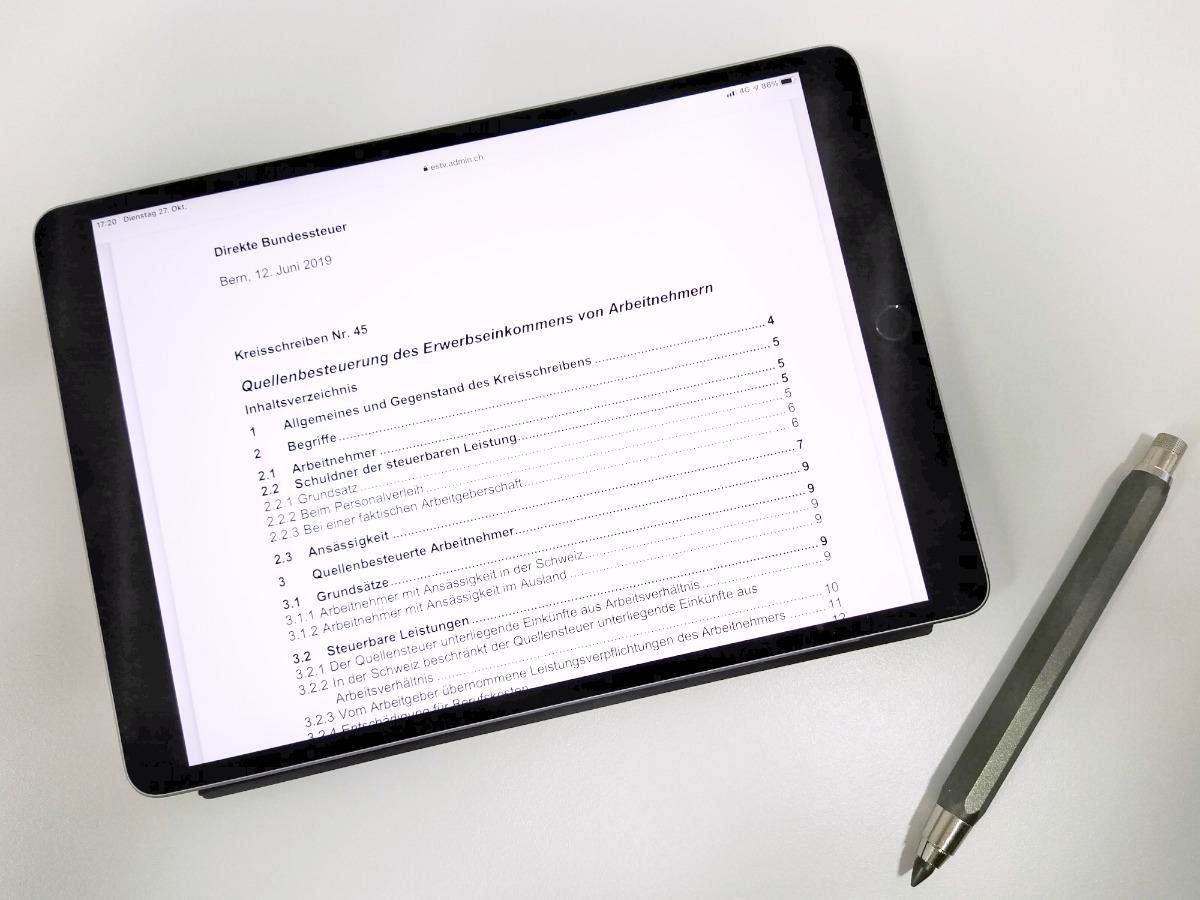 Quellensteuern ab 2021 - Das müssen Sie im KMU beachten