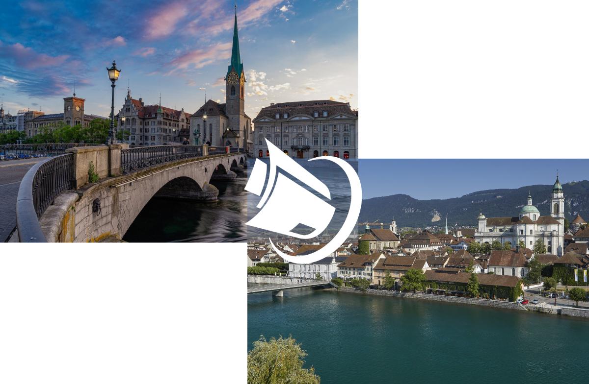 Neue Run my Accounts Standorte in Zürich und Solothurn