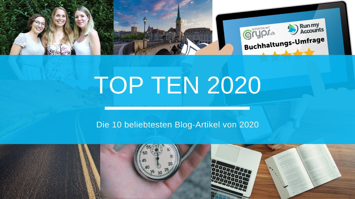 Die 10 beliebtesten Blog-Artikel von 2020