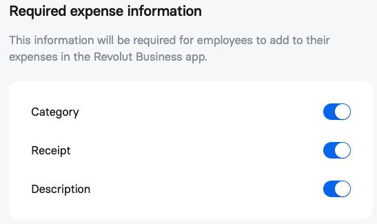 Revolut Expenses